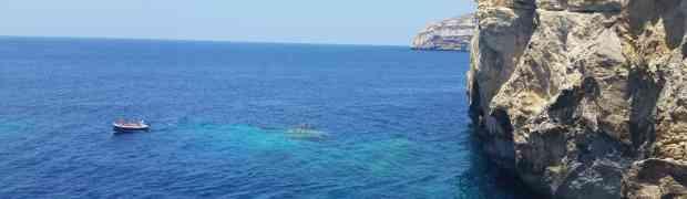 2017: Sommer in Gozo in Malta (Juli)
